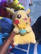 Papa and beta Pikachu