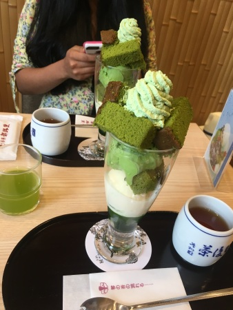 Matcha tea shop!