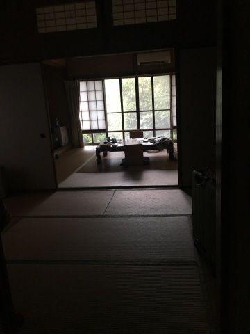 Inside our ryokan!