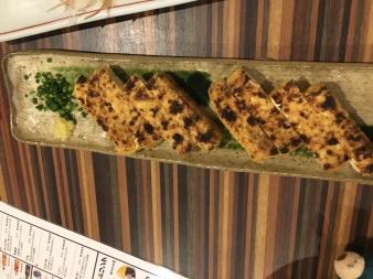 Fried tofu in Hakone