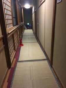 Hallway in ryokan!